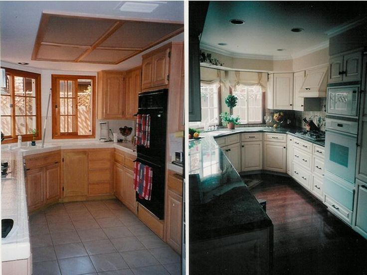 Remodeled Kitchens Before And After Decoration Endearing Design Decoration