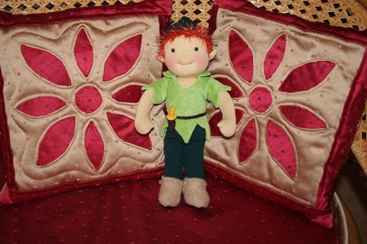 Pán Péter, #PeterPan #PeterPanDoll  by #gleditacreative #waldorfbaba #waldorfdoll #waldorfbabavarras #legjobbjáték #legjobbjatek #csodalatosajandek #handmade
