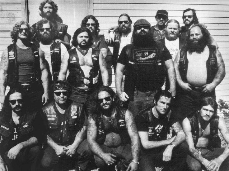 An undated photo of the Laval chapter of the Hells Angels, which saw five of its members killed 30 years ago in what became known as the…