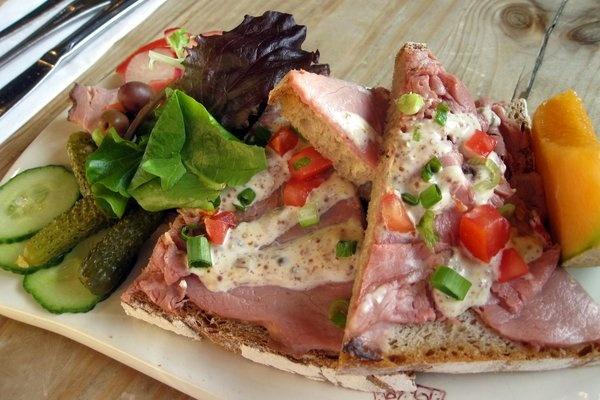 Paris ham tartine | bon plat | Pinterest