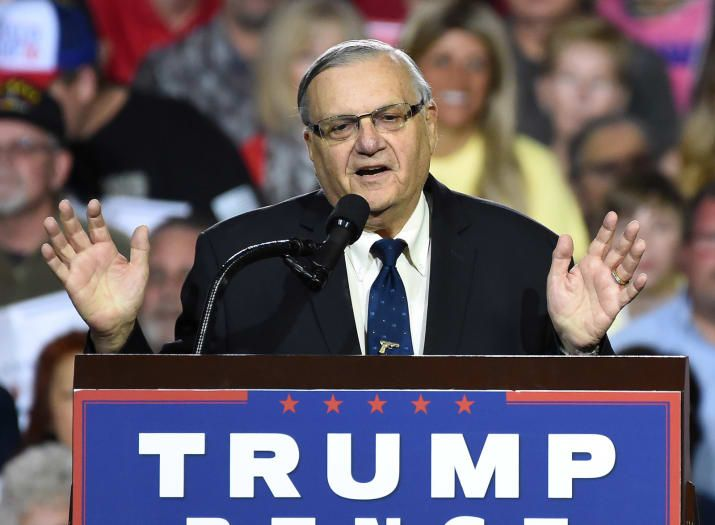Joe Arpaio's Pardon Did Not Go Through The Justice Department. It Didn't Have To.