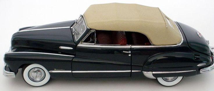 Danbury Mint 1:24 1948 Buick Roadmaster Convertible Coupe Regency Blue #DanburyMint #Buick