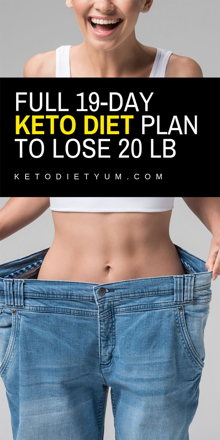 19-Day Keto Diet Intermittent Fasting Meal Plan and Menu
