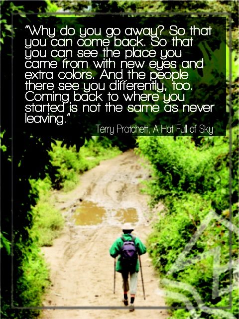 Why do you go away? - #Travelling #Quote