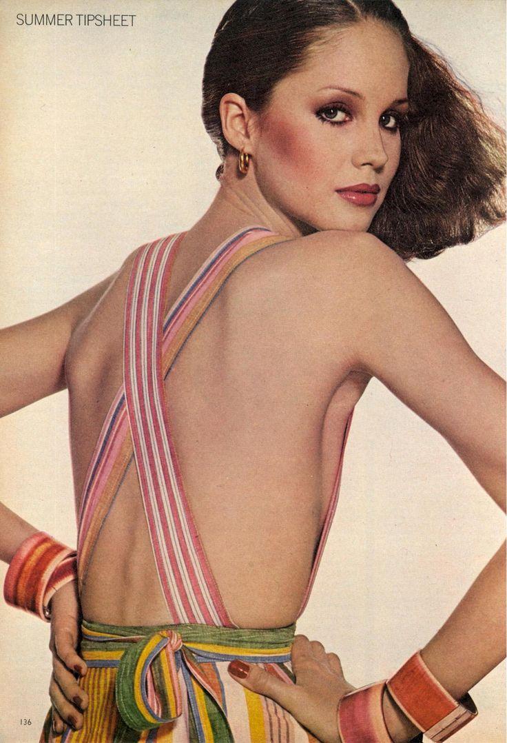 US Vogue May 1976 Summer Tipsheet: Symbols of the Season Photo Irving Penn Model Rosie Vela Makeup Sandy Linter scan by justaguy