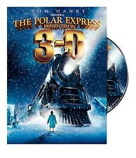 The Polar Express (DVD, 2008, 2-Disc Set, 3-D) BRAND NEW  -FREESHIPPING