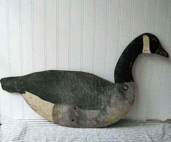 Vintage Herter's Canadian Goose Decoy by TheIndustrialFarmer