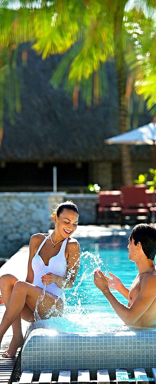 Intercontinental Bora Bora Resort Thalasso Spa Tr S Haute Diva Tahiti Pinterest