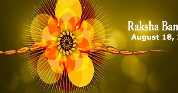 Raksha Bandhan Celebration with different Rakhi ~ Rakhi Festival