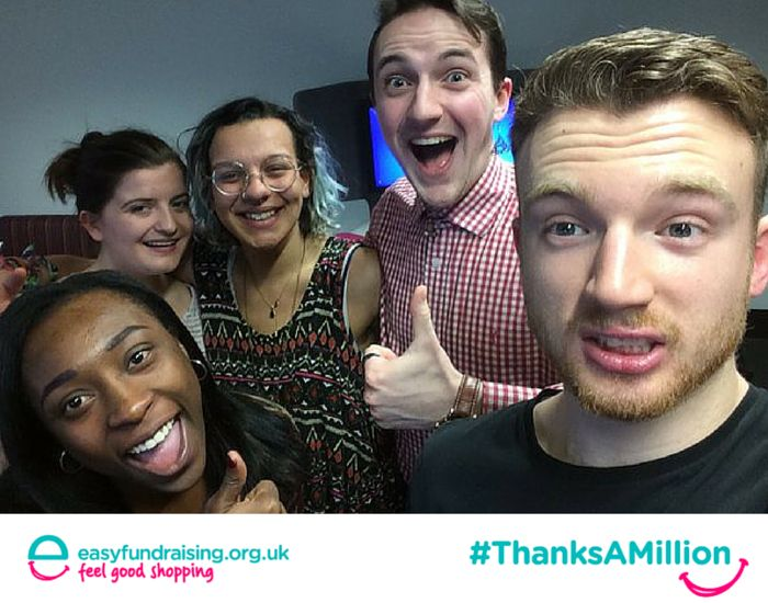 """""""@easyuk #ThanksAMillion from Rant & Rave Theatre Company for all your help!!!!"""" #Fundraising #Giving #Charity"""
