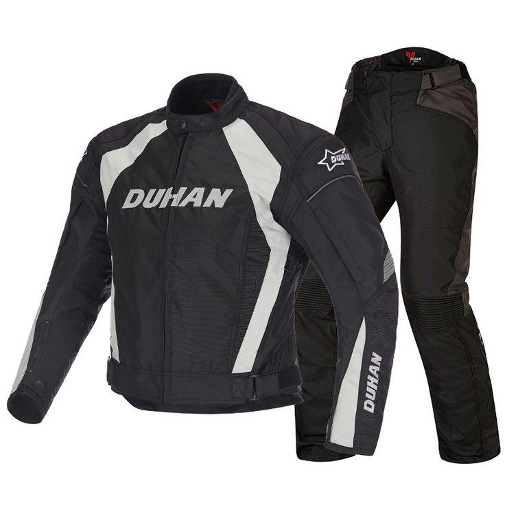 Oxford Jaqueta de Moto DUHAN Motocicleta Equitação Esporte dos homens À Prova D' Água Roupas de Proteção Corrida de Motocross OffRoad Inverno Casaco M-2XL