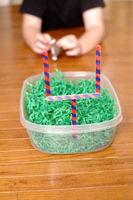 A fun activity that is also a math game, this easy to create game is great for kids in the classroom, learning at home and at your super bowl party. Super Bowl Score It!