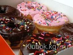 Пончики с глазурью (американский рецепт как в «Dunkin Donuts») | Клубок