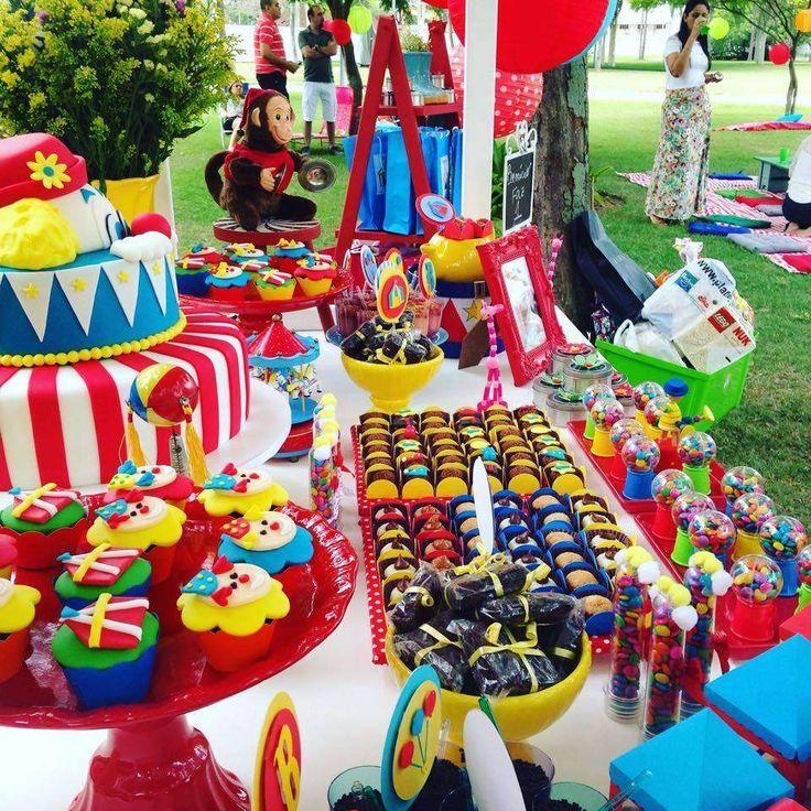 Circo do Benicio Birthday Party Ideas | Photo 4 of 10 | Catch My Party