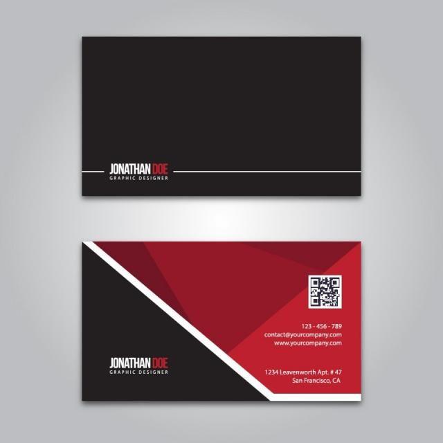 العمل قالب تصميم ويب بطاقة والتوضيح مفهوم ناقلات مجردة ورقة تصميم الشركات جرافيك رمز التوقيع Vector Business Card Black Business Card Black Business