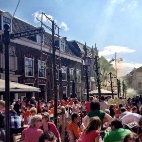 Koninginnedag in Haarlem #evenementen #haarlem