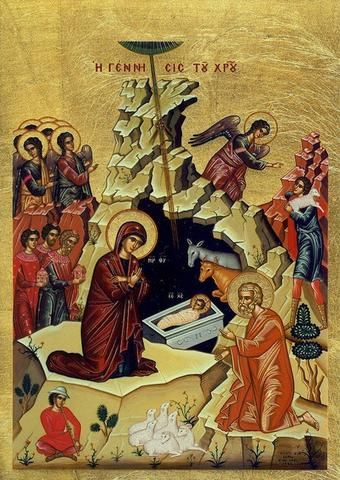 Nativity of our Lord Jesus Christ icon (SSC)
