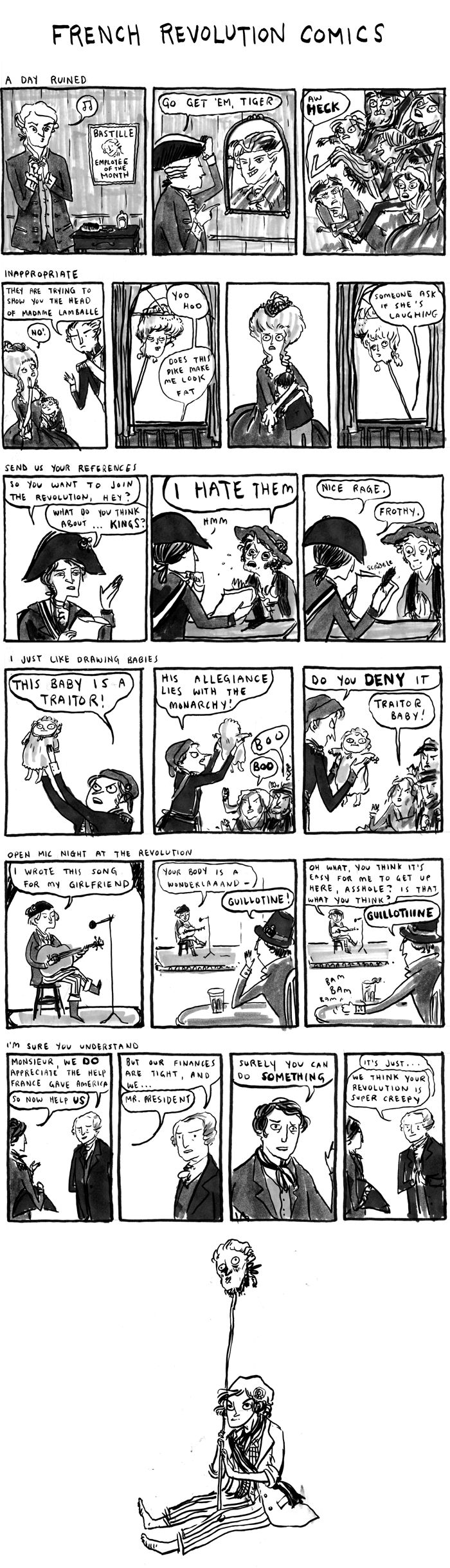 One of my most favorite ever: French Revolution Comics - Kate Beaton, Hark! A Vagrant