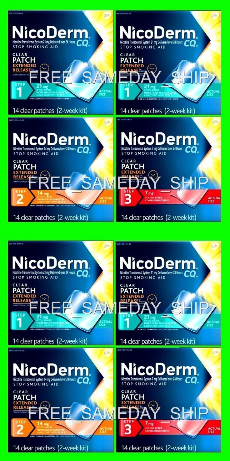 What side effects of nicoderm cq sexual long
