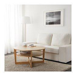 VEJMON Bord, eikefiner - 90 cm - IKEA