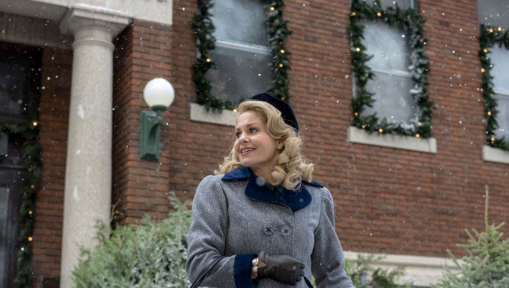 """Check out the photo gallery from the Hallmark Channel Original Movie  """"Journey Back to Christmas"""" starring Candace Cameron Bure, Oliver Hudson and Brooke Nevin."""