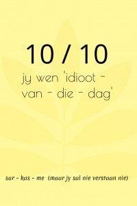 10 uit 10