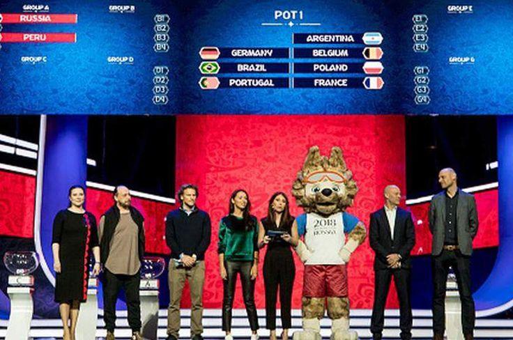 Así será el sorteo de los grupos del Mundial de Rusia este viernes en Moscú - Diez - Diario Deportivo