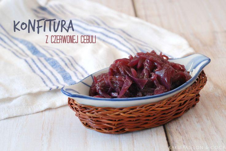 Konfitura z czerwonej cebuli / Red onion jam