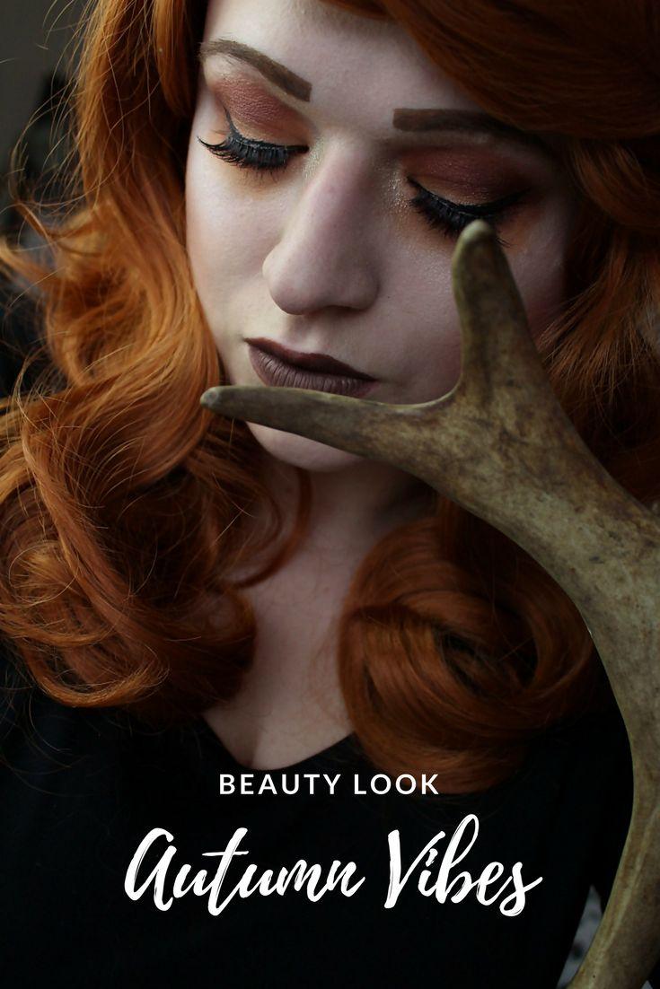 Autumn Vibes - Herbst Make Up.  Ein schöner herbstlicher Make Up Look der leicht nachzuschminken ist.