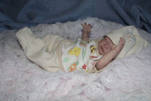Reborn baby Girl Kaylia was Zackey by Marita Winters auction ends on the 27th October 2013