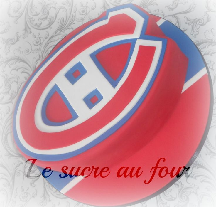 Montreal Canadien cake