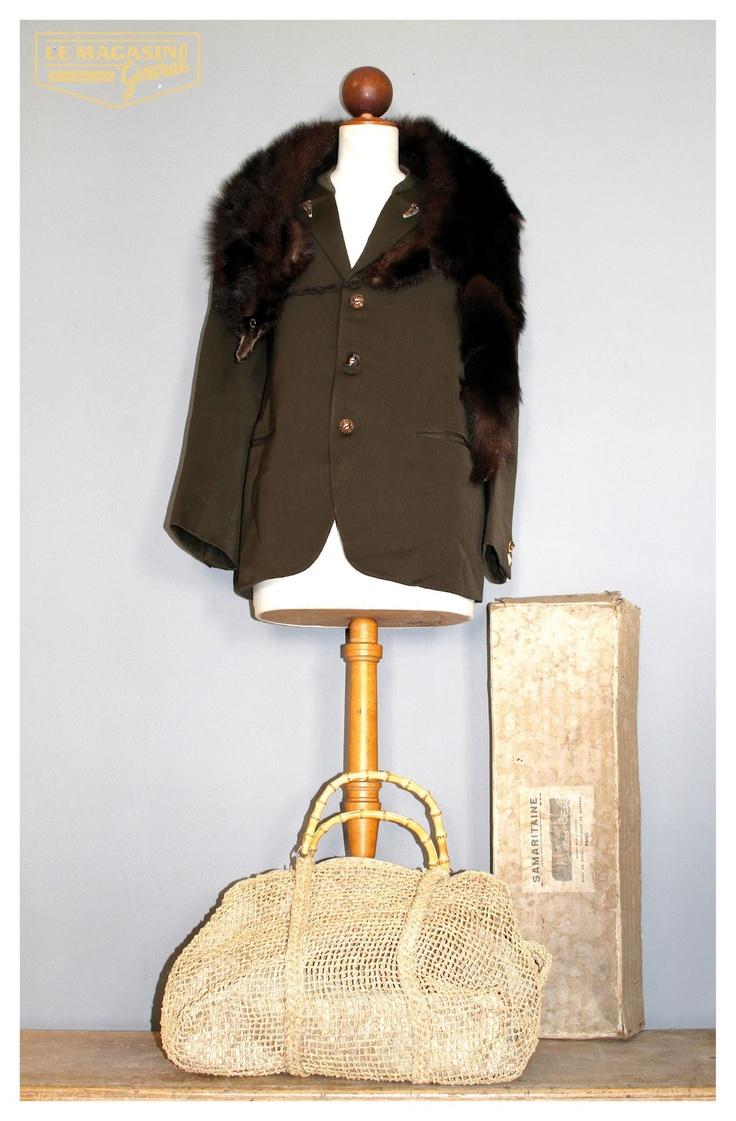 Le Magasin Général, #mink, #fur, #vintage
