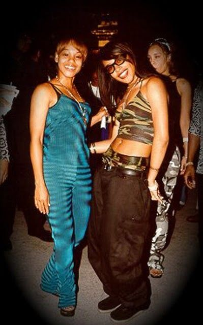 """Lisa """"Left Eye"""" Lopes ❤ with (the late) Aaliyah"""