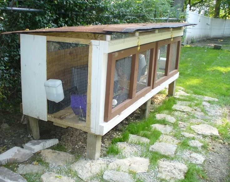 1000 ideas about outdoor rabbit hutch on pinterest for Outdoor bunny hutch