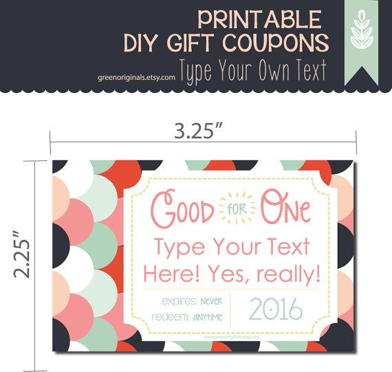 Free printable coupon book for wife