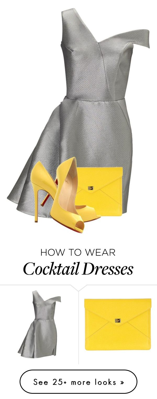 """""""It's on you Excellency"""" by bella8 on Polyvore featuring Maticevski, Dolce&Gabbana and Christian Louboutin"""