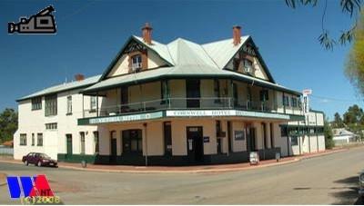 Cornwall Hotel Narrogin,  Wheatbelt area of Western Australia http://www.wanowandthen.com/narrogin.html