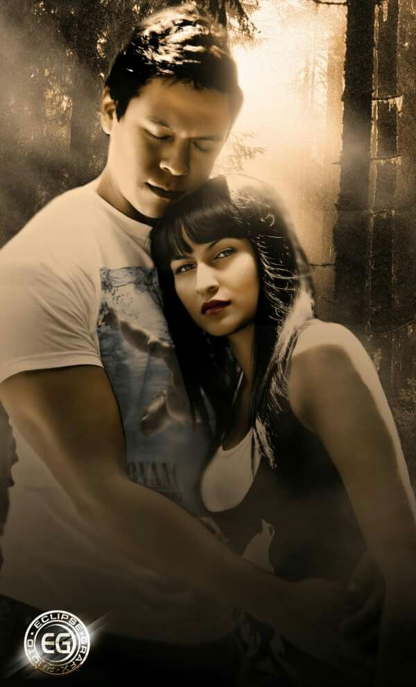 Sam Uley and Emily Young | Twilight pics in 2019 | Vampire