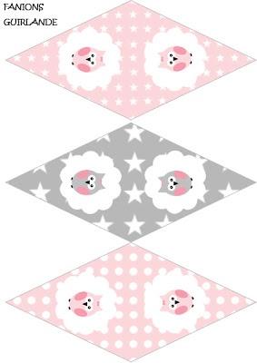 FREE printable: Lady Bidouille: Kit imprimable pour un anniversaire très chouette