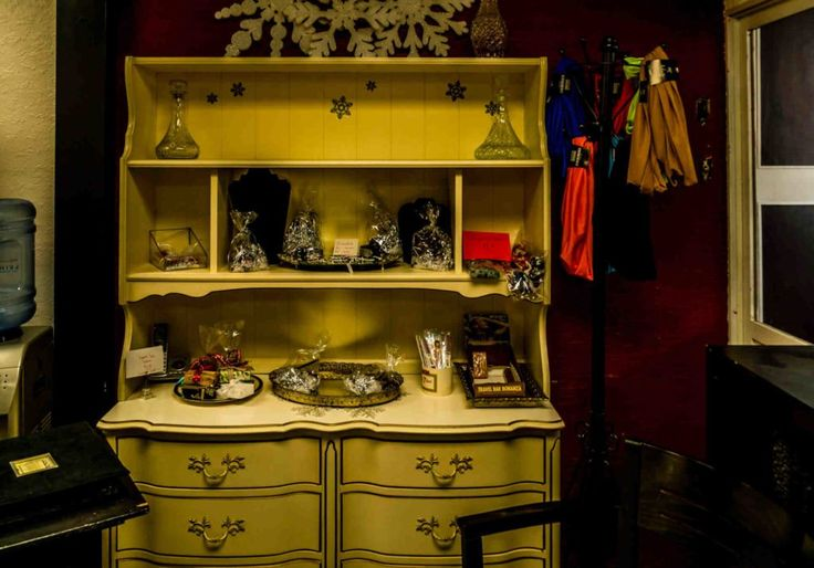 Yellow Chest of Drawers
