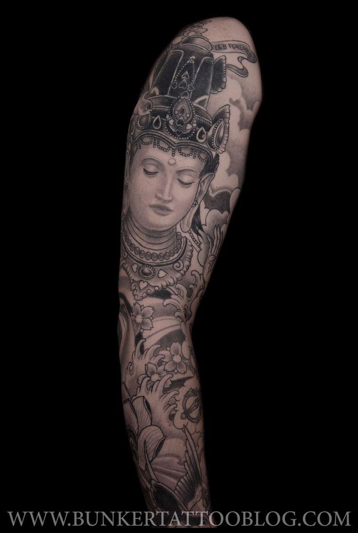 46 best Buddha Tattoo Sleeve images on Pinterest