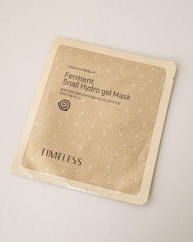 TONYMOLY Timeless Ferment Snail Hydro Gel Mask