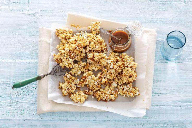 Zoute popcorn met zoete karamel: bijzonder lekker - Recept - Allerhande