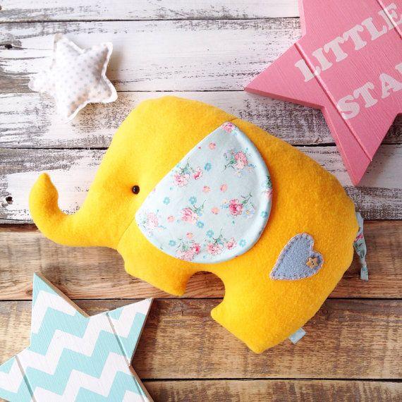 Elephant pillow. Light as a cloud and pleasant от HobbymamaStore