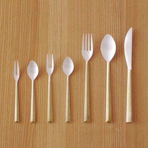 Minimalist and perfect. 鋳肌カトラリー Oji & Deisgn cutlery