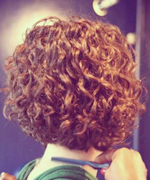 Curly Short Bob Cut Thick Hair