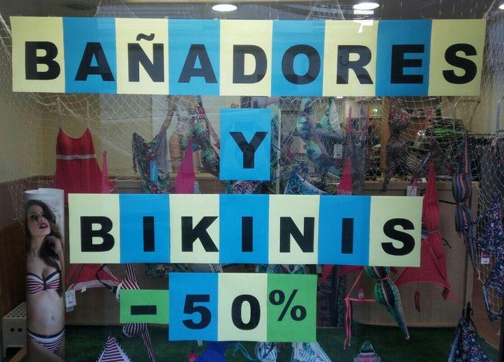 OFERTA¡+Bikinis+y+Bañadores+a+mitad+de+precio+-50% ¡Feliz Verano!☀️⛱ y ¡Felices Precios!😃 #oferta,#verano,#bikinis,#bañadores,#vacaciones,#Montilla,#Córdoba,#rebajas