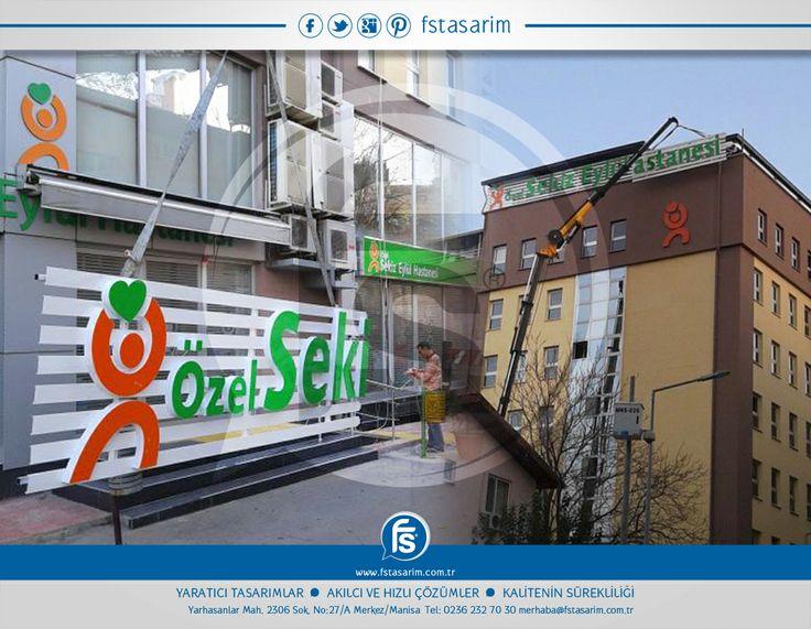 """""""Özel Sekiz Eylül Hastanesi"""" Tabela ve Reklam Kampanyaları için bizi tercih etti.. Teşekkürler... http://www.fstasarim.com.tr"""
