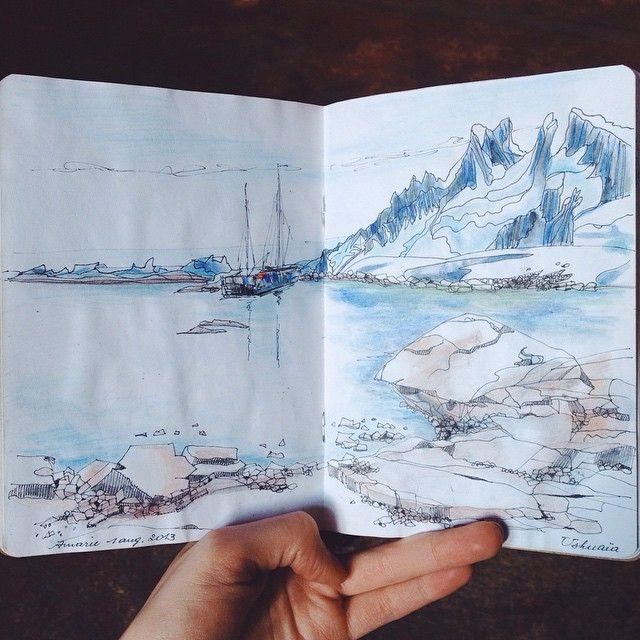 Sketchbook by Anne-Marie De Meese