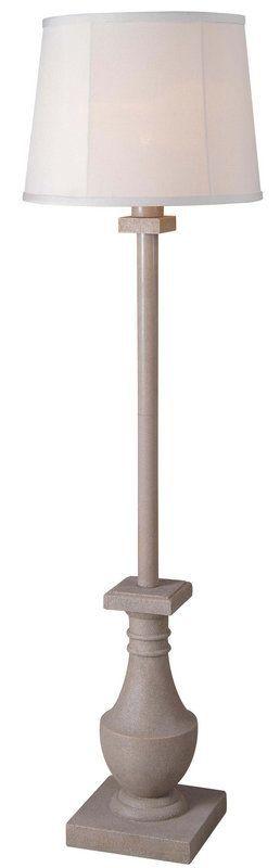 Kenroy Home 32269 Patio 1 Light Outdoor Floor Lamp Coquina Lamps Floor Lamps  Accent Lamps